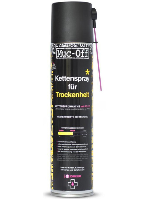 Muc-Off Dry PTFE Chain >Lube Aerosol 400 ml